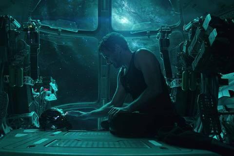 Robert Downey Jr. in Avengers: Endgame (2019) Foto: IMDB * Vingadores  Ultimato *