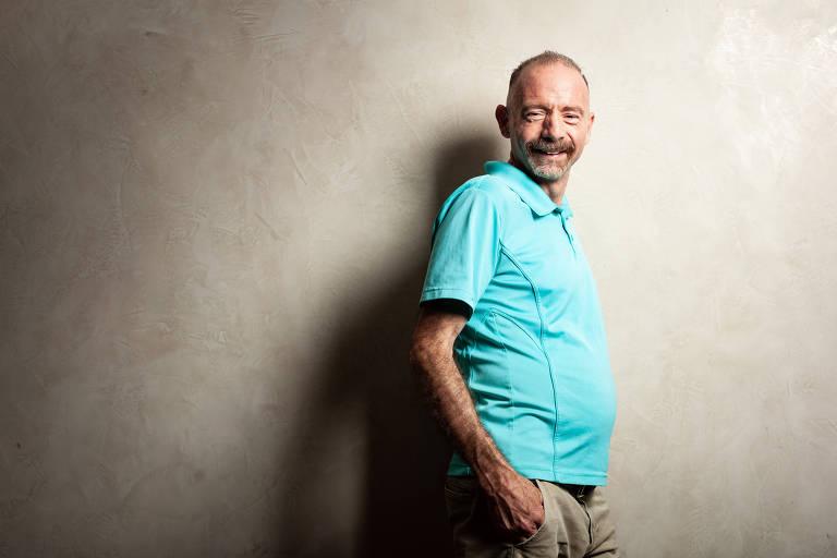 Timothy Brown, conhecido como 'paciente de Berlim', em visita a São Paulo