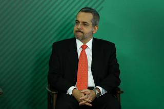 Cerimônia de posse do ministro da Educação, Abraham Weintraub