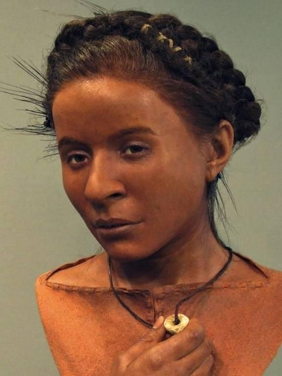 Reconstrução facial da Menina Whitehawk