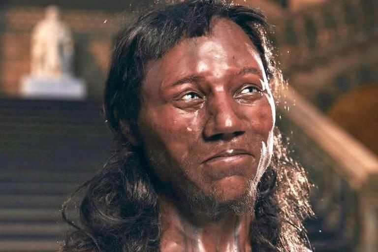 Reconstrução do rosto do Homem de Cheddar