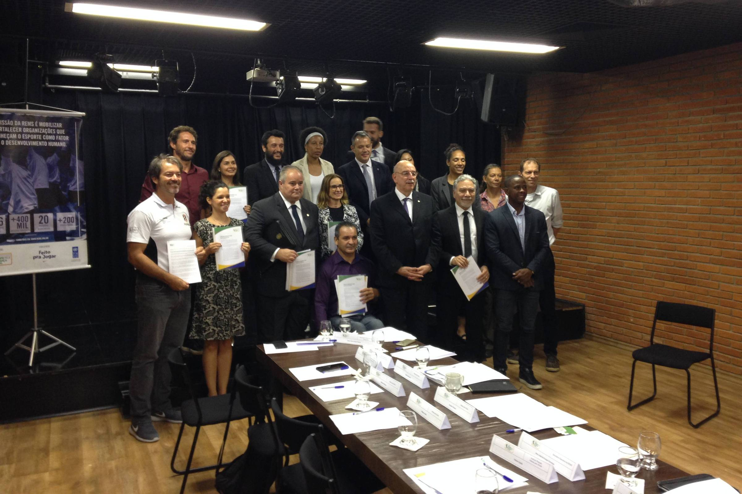 Entidades de esporte apresentam propostas ao governo Bolsonaro