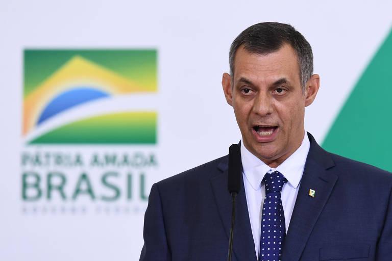 Porta-voz da Presidência da República, Otávio Rêgo Barros; segundo ele, Bolsonaro não quer e não vai intervir