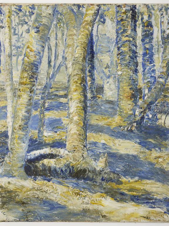 'Sem Título (troncos)', de Miguel Bakun