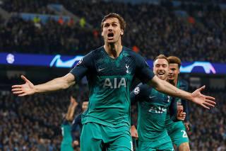 Champions League Quarter Final Second Leg - Manchester City v Tottenham Hotspur