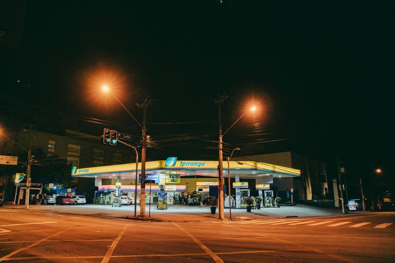 Postos de gasolina em São Paulo