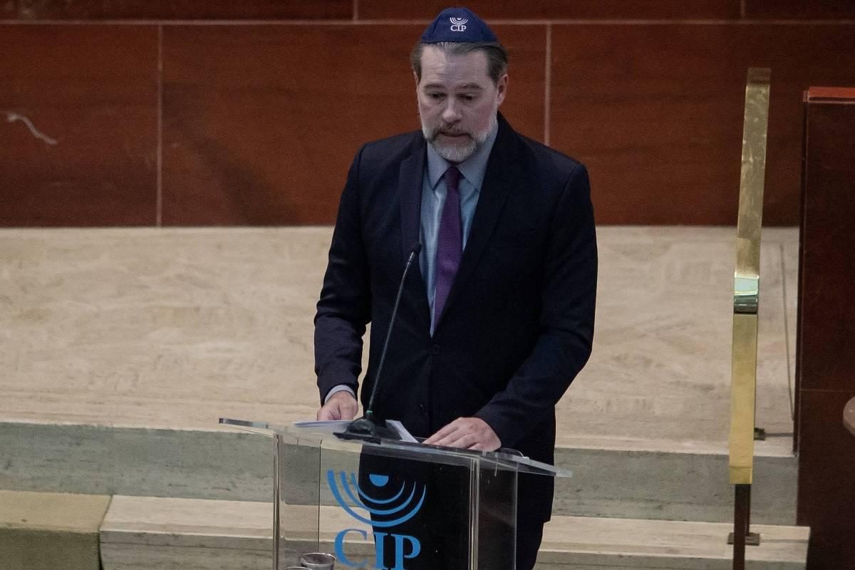 Liberdade de expressão não pode servir para alimentar ódio, diz Toffoli