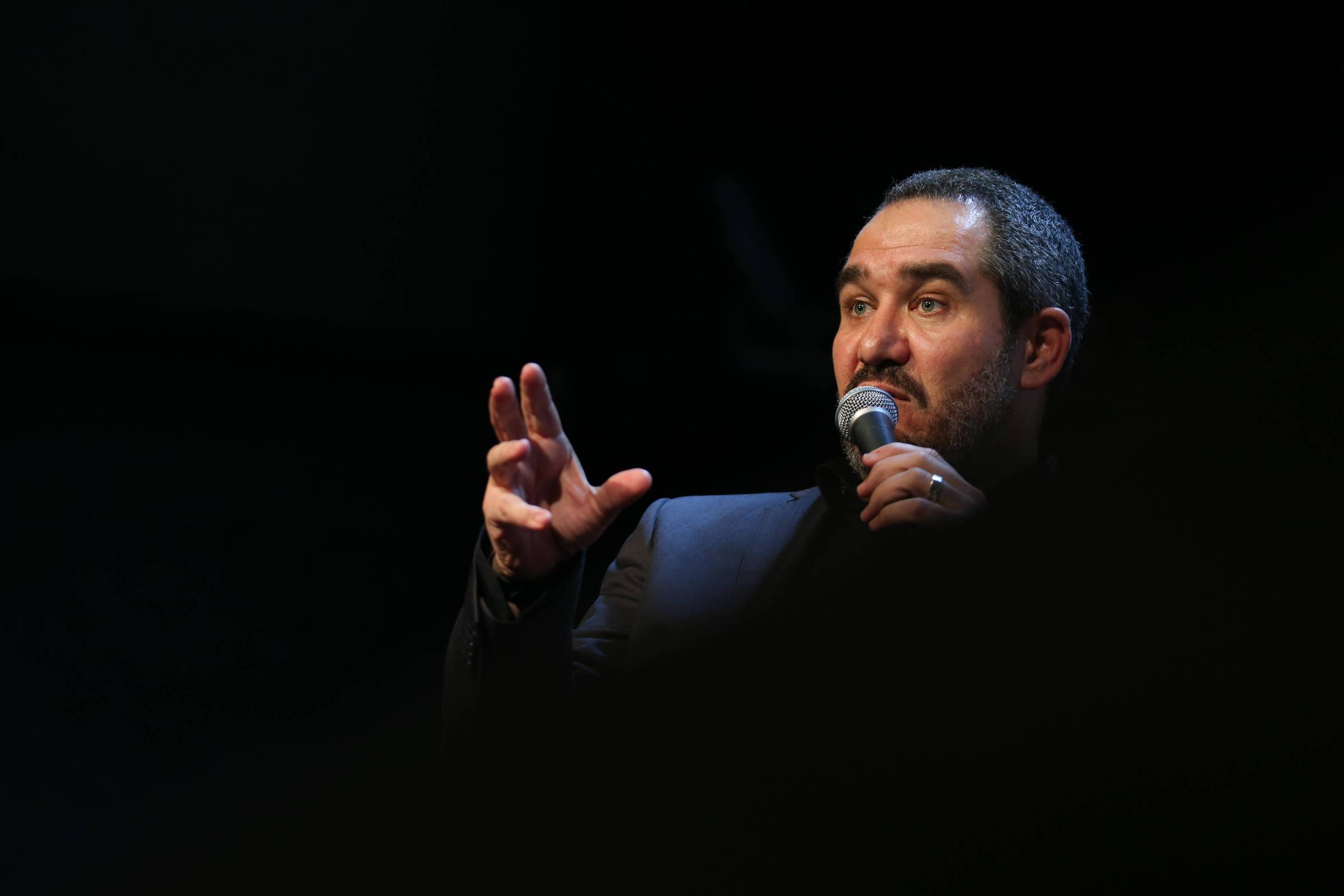 O diretor-presidente da Ancine, Christian de Castro