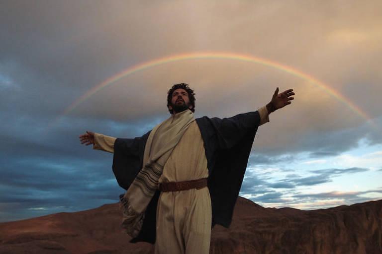 """Cena de """"Eu Conheci Jesus"""", do History Channel"""