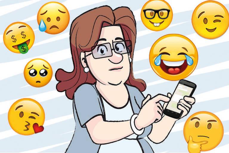 F5 Colunistas Bate Papo Na Web Para Visualizar Emojis E
