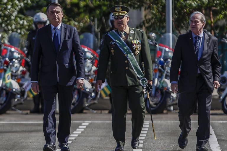 Bolsonaro participa de homenagem ao Exército em São Paulo