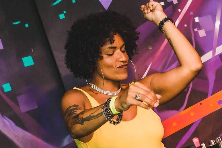 A DJ Garota, atração da Perifa no Toque