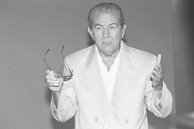 O então senador Jarbas Passarinho, em foto de 1994