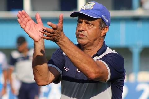 Márcio Ribeiro comanda o Água Santa na Série A2 do Campeonato Paulista