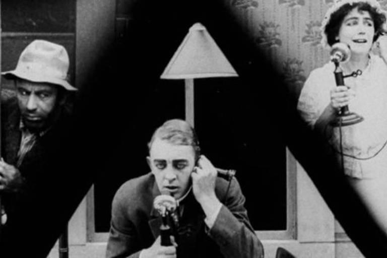 O filme 'Suspense', de 1913, é uma obra de arte, com um dos primeiros usos da técnica de divisão de tela