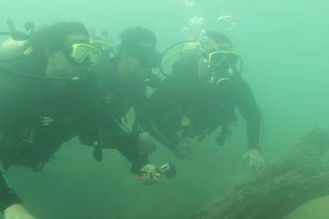 Águas turvas, onde antes era cristalino, têm afetado o turismo em um dos principais rios da região de Bonito, em Mato Grosso do Sul