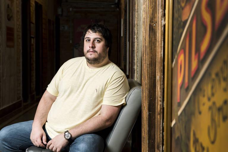 Octavio Brandão, 31, fundador do marketplace EShows
