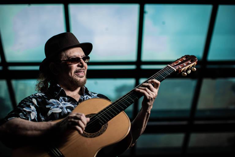 'Foi na cadeia que descobri que queria viver de música', diz Geraldo Azevedo