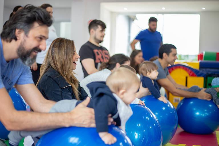 Espaços para desenvolvimento de bebês