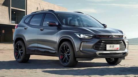 Nova geração do esportivo utilitário Chevrolet Tracker é apresentado no Salão do Automóvel de Xangai