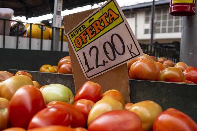 Alta no preço do tomate