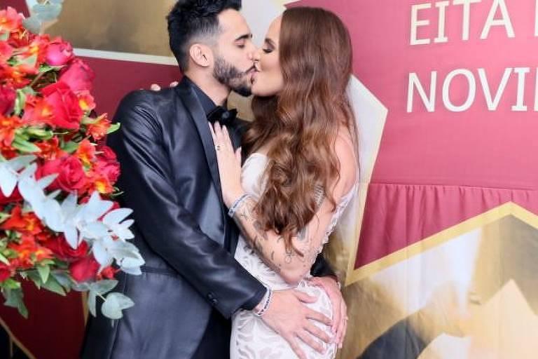 Perlla e o músico Cassio Castilhol terminam casamento