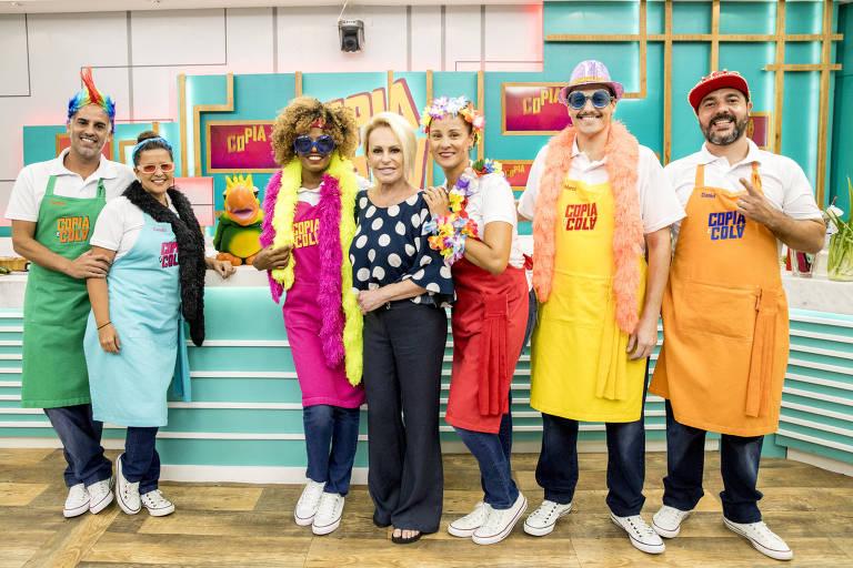 Reality show culinário no Mais Você