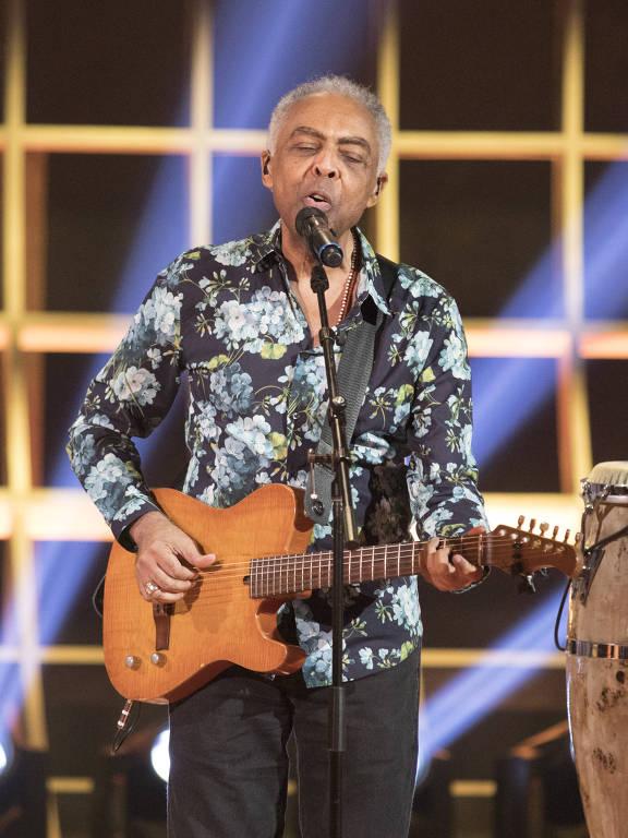 Gilberto Gil no Caldeirão do Huck