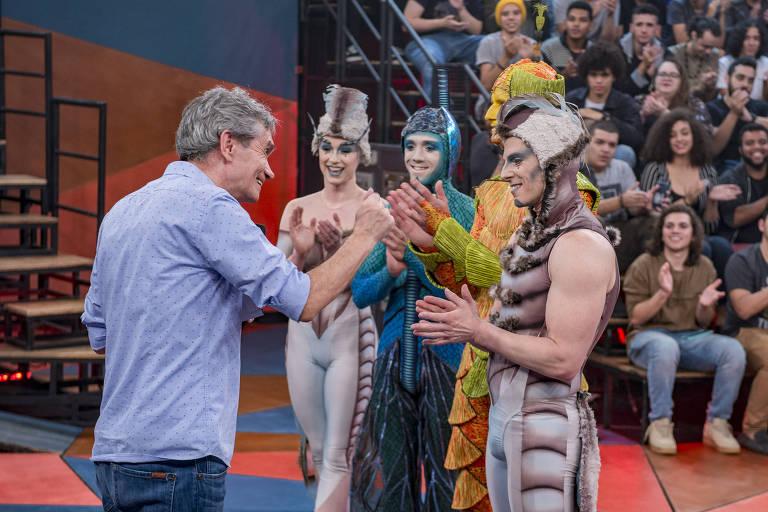 Cirque Du Soleil no Altas Horas