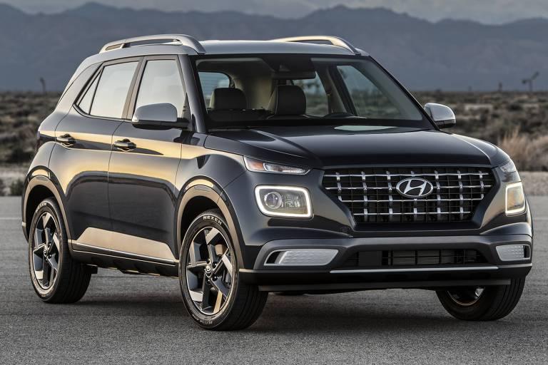 Hyundai mostra SUV menor que o Creta