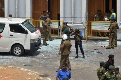 Ataques durante celebração da Páscoa deixam 207 mortos e 450 feridos no Sri Lanka
