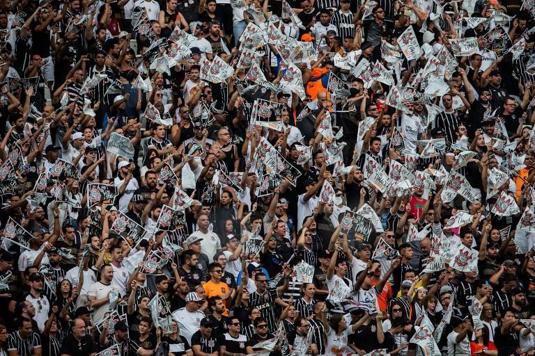 Corinthians x São Paulo - a torcida