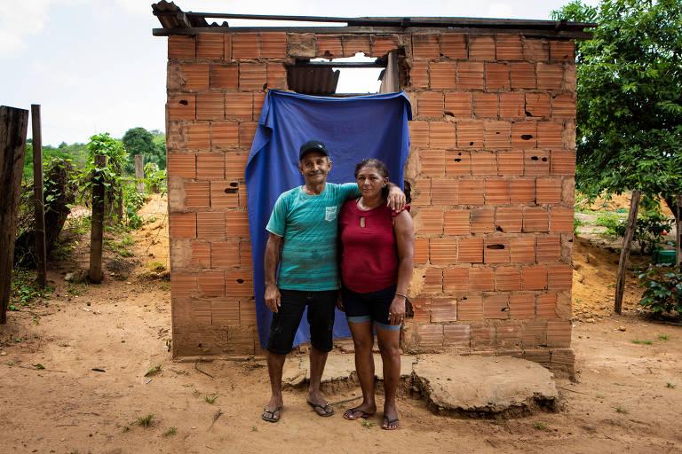 Resíduo inflamável no Maranhão