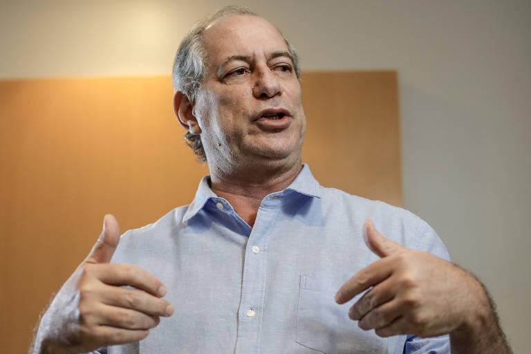O ex-governador do Ceará Ciro Gomes, que ficou em terceiro na eleição presidencial de 2018