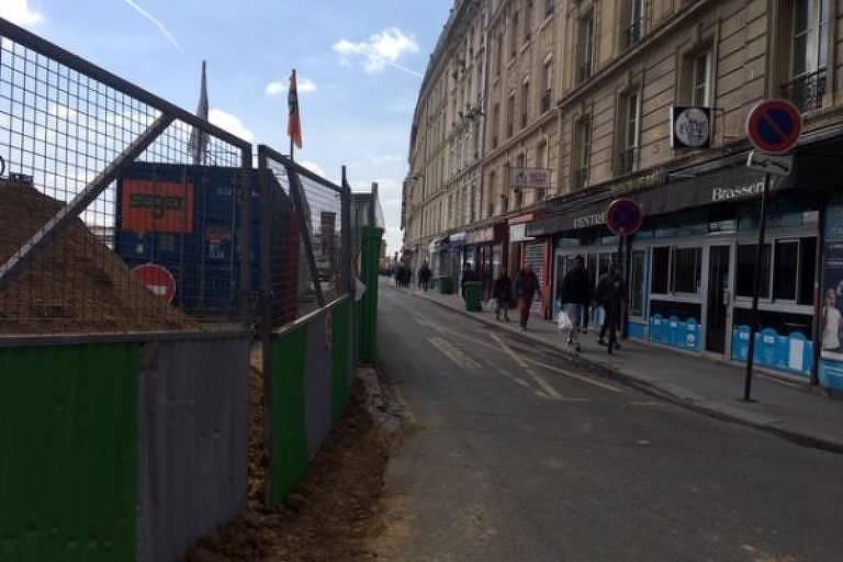 Rue d'Alsace, em Paris