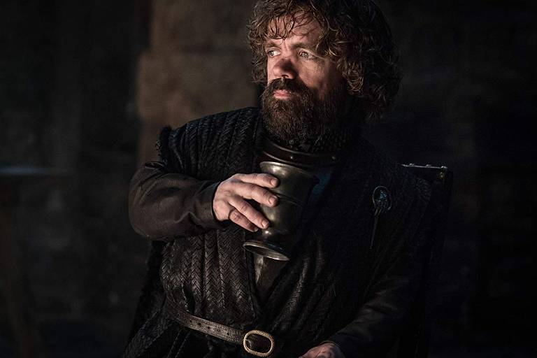 O ator Peter Dinklage, o Tyrion, na oitava temporada de 'Game of Thrones'