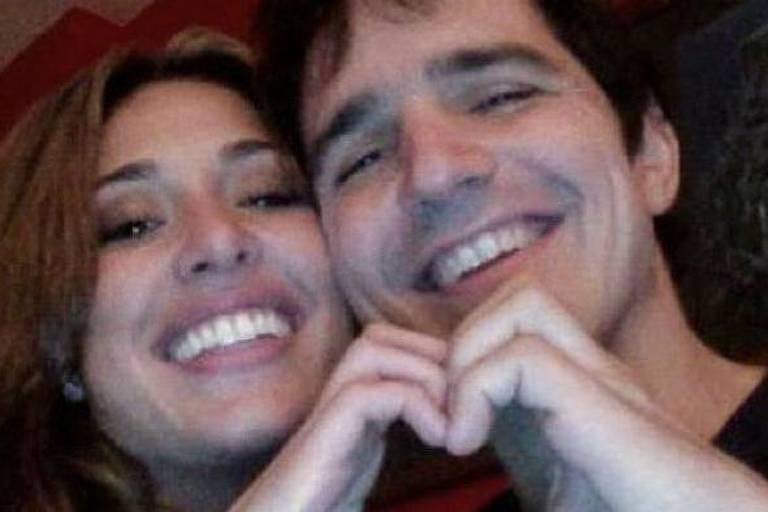 Gisele Itié com o ex-namorado, Rodrigo Gimenes