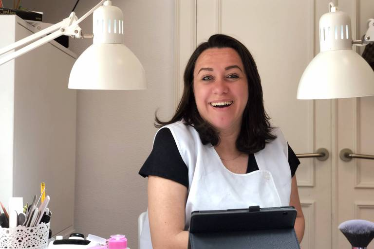 A catarinense Keisy Lira, 37, chegou a Portugal em 2013