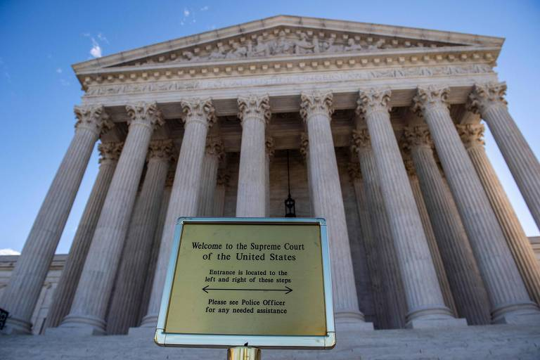 A Suprema Corte dos Estados Unidos, em Washington