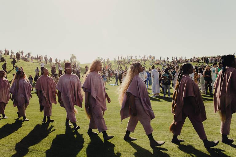 Culto-show de Kanye West no Coachella