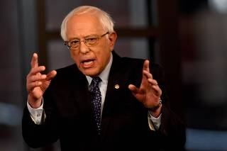 Sen. Bernie Sanders Participates In A Fox News Town Hall In Pennsylvania