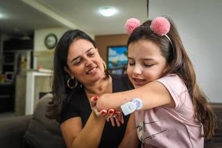Sensor de Diabetes, Diabetes, Criança, Jovem, Medidor de Diabetes