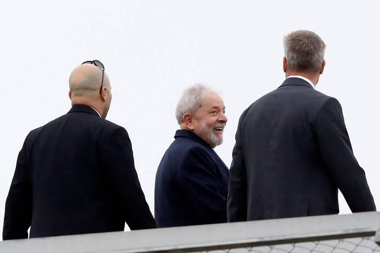 O ex-presidente Lula, que pode ser beneficiado por cálculo de pena feito pelo STJ