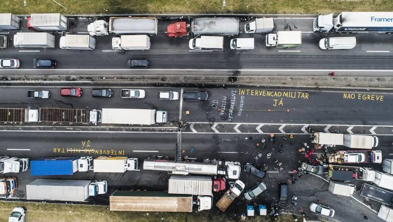 Caminhoneiros e o governo Bolsonaro