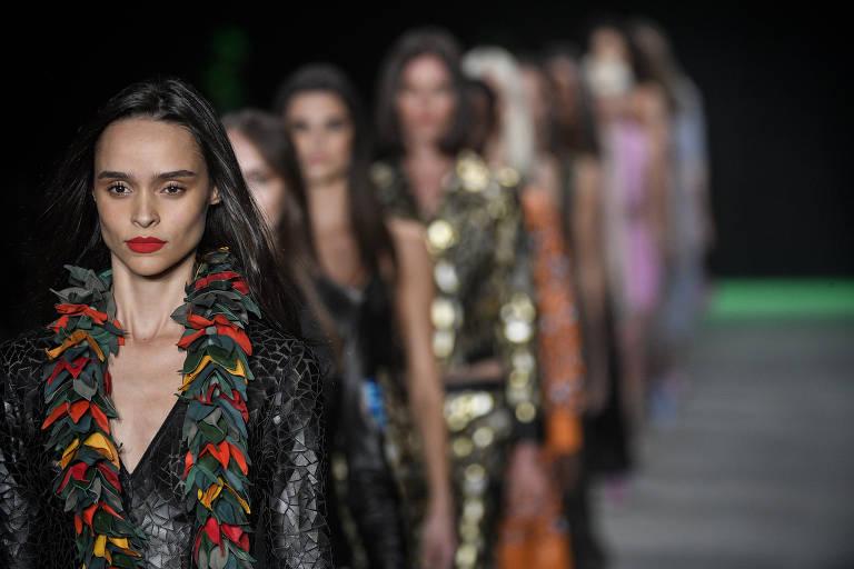Desfile de Patricia Viera nesta terça na São Paulo Fashion Week
