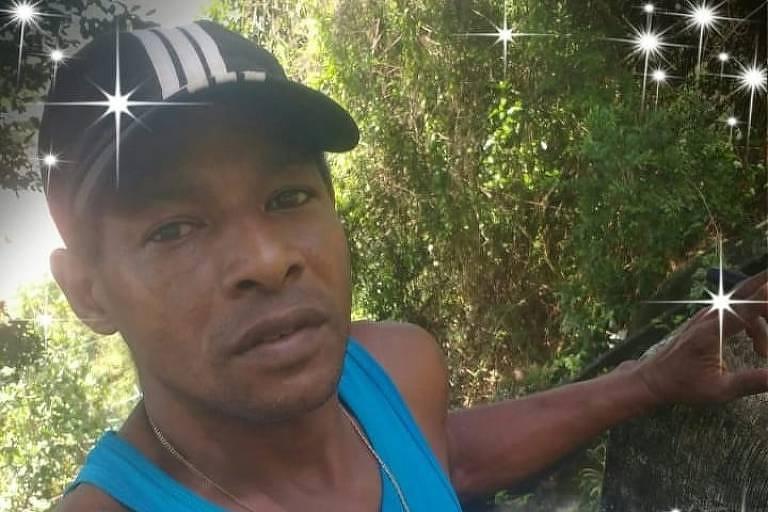 O gari Willian Mendonça Santos, que morreu após ser baleado na favela do Vidigal; moradores acusam a polícia