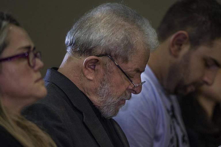 O ex-presidente Lula, em foto de 2017