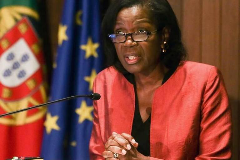 A ministra da Justiça de Portugal, Francisca Van Dunem