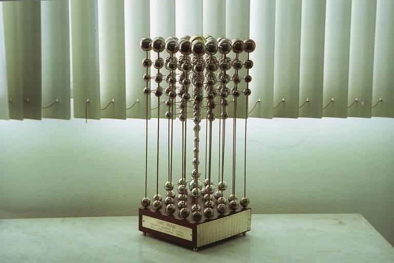 Taça das Bolinhas, troféu que está em posse da Caixa Econômica Federal