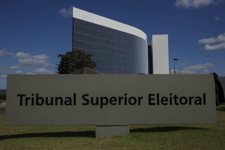 Prédio do Tribunal Superior Eleitoral, em Brasilia